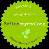 Buitenpsycholoog badge 2020-2021
